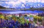 Obras de arte:  : España : Andalucía_Granada : Granada_ciudad : Primavera en Alaska