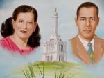 Obras de arte: America : Rep_Dominicana : Santiago : monumental : MIS PADRES