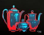 Obras de arte:  : España : Comunidad_Valenciana_Alicante : alicante_ciudad : CAFE CON LECHE