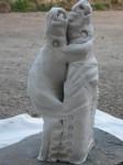 Obras de arte: Europa : España : Extremadura_Badajoz : badajoz_ciudad : Los que se aman