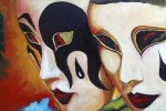 Obras de arte: Europa : España : Catalunya_Tarragona : Valls : Mascaras de Carnaval