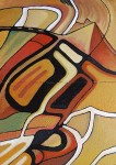 Obras de arte: Europa : Espa�a : Catalunya_Tarragona : Valls : Pir�mides y laberintos