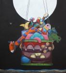 Obras de arte: America : México : Puebla : puebla_ciudad : Viaje a la luz de mi luna