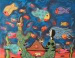 Obras de arte: America : México : Puebla : puebla_ciudad : la pecera