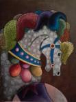 Obras de arte: America : México : Puebla : puebla_ciudad : EL CABALLO Y LA PELOTA