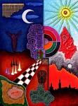 Obras de arte: Europa : España : Catalunya_Barcelona : Castelldefels : Semana Santa en Sevilla
