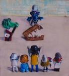 Obras de arte: Europa : Italia : Sardegna : sassari : Condena a muerte de Gafitas