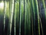 Obras de arte: Europa : España : Extrmadura_Cáceres : Logrosan : Bosque de Bambú