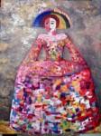 Obras de arte: Europa : España : Extrmadura_Cáceres : Logrosan : Dama en Rosa