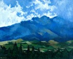 Obras de arte:  : Ecuador : Manabi :  : Volcán Rumiñahui I