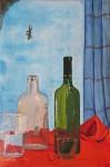 Obras de arte:  : España : Castilla_la_Mancha_Cuenca :  : bodegón de cristal