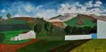Obras de arte:  : España : Castilla_la_Mancha_Cuenca :  : paisaje en carrascosa del campo
