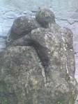 Obras de arte:  : Colombia : Tolima : Ibague : Figura humana en piedra