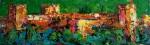 """Obras de arte:  : España : Andalucía_Granada : Granada_ciudad : OBRA: """"ALHAMBRA VERDE ARRAYANES"""""""