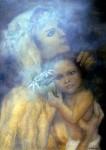 Obras de arte: America : México : Durango : durango_ciudad : Virgen con el niño