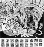 Obras de arte: America : Chile : Bio-Bio : concepcion_chile : Fantasmas en la casa del perro muerto I