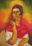 Obras de arte: Europa : España : Aragón_Zaragoza : zaragoza_ciudad : Retrato de Frida