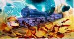 Obras de arte:  : España : Cantabria : Santander : Tren de los sueños