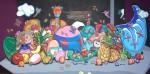 Obras de arte: America : México : Puebla : puebla_ciudad : Corneando la abundancia