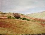 Obras de arte:  : Ecuador : Manabi :  : Choza en el Páramo I