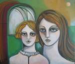 Obras de arte: Europa : España : Madrid : Valdemorillo : Madre y niño