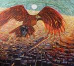 Obras de arte: America : Perú : Lima : la_molina : ciudad roja