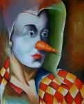 Obras de arte: America : Cuba : La_Habana : Vedado : Payaso cubano IV