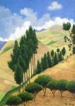 Obras de arte:  : Ecuador : Manabi :  : Paisaje Andino Provincia del Cañar