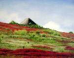 Obras de arte:  : Ecuador : Manabi :  : Choza en el Páramo en Rojo