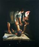 Obras de arte: America : Cuba : La_Habana : Vedado : Apagón