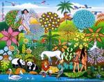 Obras de arte: America : Brasil : Pernambuco : Recife : Expulsao do Edem