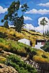 Obras de arte:  : Ecuador : Manabi :  : Paisaje en Picaihua