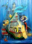 Obras de arte:  : España : Cantabria : Santander : Pecera