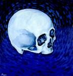 Obras de arte:  : Ecuador : Manabi :  : Cráneo en Azul