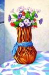Obras de arte:  : Ecuador : Manabi :  : Jarrón con Flores Artificiales