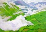 Obras de arte:  : Ecuador : Manabi :  : Sobre los Andes