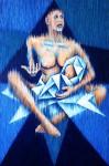 Obras de arte:  : Ecuador : Manabi :  : Maternidad en Azul