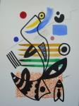 Obras de arte:  : España : Catalunya_Barcelona : Barcelona : BOCETO(LINEA,COLOR Y FORMAS)