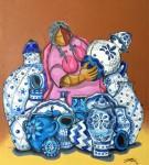 Obras de arte: America : México : Puebla : puebla_ciudad : TALAVERA AZUL