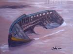 Obras de arte: America : Chile : Region_Metropolitana-Santiago : providencia : barco empantanado