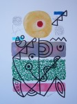 Obras de arte:  : España : Catalunya_Barcelona : Barcelona : IMPROVISACION(LINEA Y COLOR)