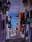 Obras de arte: America : Argentina : Buenos_Aires : Capital_Federal : Por la pendiente