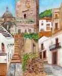 Obras de arte:  : México : Morelos : cuernavaca : Escaleras de Taxco