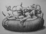 Obras de arte:  : España : Valencia : valencia_ciudad : La felicidad de compartir traumas