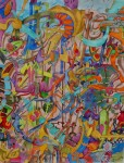 Obras de arte:  : Costa_Rica : San_Jose : Moravia : ESCALERA AL CIELO