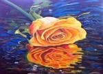 Obras de arte: Europa : España : Extrmadura_Cáceres : Logrosan : Rosa amarilla