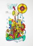 Obras de arte:  : Costa_Rica : San_Jose : Moravia : La procesadora