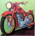Obras de arte:  : España : Cantabria : Santander : Mi moto