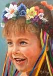 Obras de arte: America : Colombia : Antioquia : Medellin : Niña de Ukrania