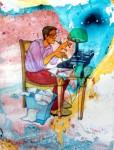 Obras de arte:  : España : Cantabria : Santander : El escritor
